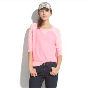 • Madewell Pink Pullover •